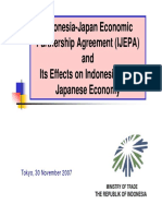 Indonesia Japan Economic Partnership Agreement IJEPA Indonesia Investments