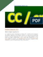 Crankittechnical Anatomyengine Capacity
