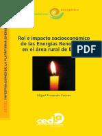 Rol e Impacto Socioeconomico Energias Renovables en Area Rural