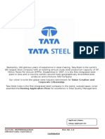 Tata Steel Application Form
