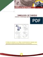 SIMBOLOGÍA de TUBERÍAS Unidad 3.-Simbología Aplicada en Planos