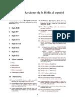 Anexo-Traducciones de La Biblia Al Español