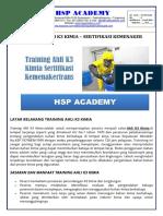 trainingk3l.com - Training Ahli k3 Kimia Sertifikasi Depnakertrans
