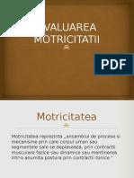 EVALUAREA-MOTRICITATII