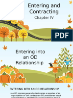 Entering and Contracting - Organizational Development