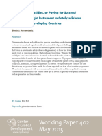 Beatriz Armendariz - Working Paper on Financing to Support Private Sector
