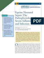 Equine Neonatal Sepsis COMPENDIUM