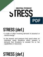 IE 300 - Stress-2