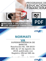 Modulo Derechos y Obligaciones Del Usuario Financiero