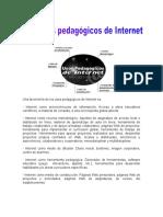 Los Usos Pedagogicos Del Internet