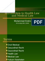 Introduction to Health Law and Medical Law.ppt