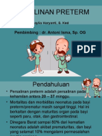 Persalinan Preterm