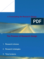 4. Formulating the Research Design