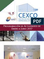 CEXCO | Programación de Actividades de Enero a Junio 2017