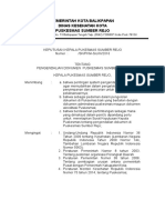 Surat Keputusan Ttg Pengendalian Dokumen Ok