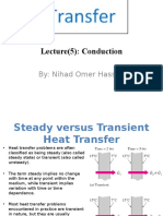 Conduction heat transfer