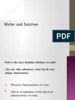 Chapter5 Water and Solution