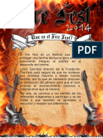 Formulario Fire Fest 2014 DARK SIDE