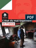 L'état du mal-logement en France en 2017 - Fondation Abbé Pierre