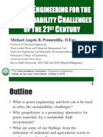 Green Engineering for the sustainability challenges of the 21st Century