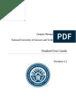 Student User Guide v 1.1