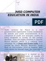 Improved Computer Education in India