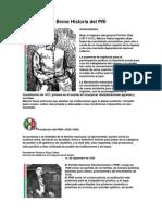 Breve Historia Del PRI