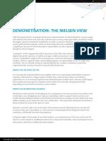 Demonetisation the Nielsen View