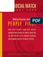 Social Watch Report 2009 - Making Finances Work