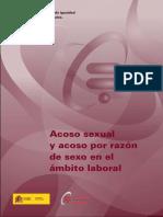 Acoso Sexual y Acoso Por Razon de Sexo en El Ambito Laboral 2010