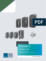 SINAMICS G120C Converter Op Instr 1116 en-US