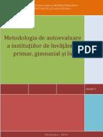 Metodologia Autoeval Instutiilor-Inv.general
