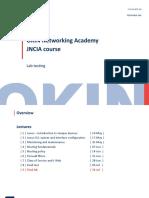 Juniper JNCIA Lecture Lab