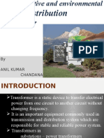 Cost –Effective and Environmental Friendly Distribution Transformer