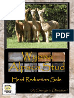 Wyona Alpaca Stud Herd Reduction Sale