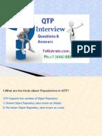 QTP Online Training