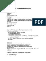 Russell Technique Schedule
