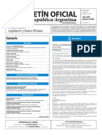 Boletín Oficial de la República Argentina, Número 33.556. 31 de enero de 2017