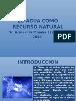 Agua Como Recurso Natural 2016