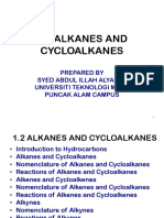 Alkanes, Alkenes, Alkyne and Aromatic Compounds