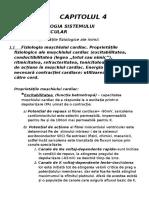 Fiziologia Sistemului Cardiovascular