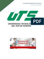 Perfil de Ingreso del Técnico Superior Universitario en Procesos Industriales área Manufactura
