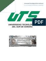 Perfil de Ingreso del Técnico Superior Universitario en Tecnologías de la Información y Comunicación