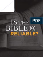 Is The Bible Reliable? eBook