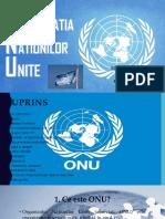 ONU-Organizatia Natiunilor Unite