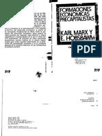 Hobsbawm_Formaciones Económicas Precapitalistas