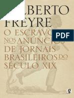 O Escravo nos Anuncios de Jorna - Gilberto Freyre.pdf