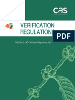 CAS Doc 31 4C Verification Regulations v2.2