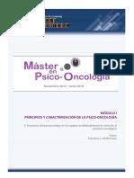 Psico-oncología introducción