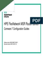 HPE FlexNetwork MSR Router Comware 7 Configuration Guide 2-2